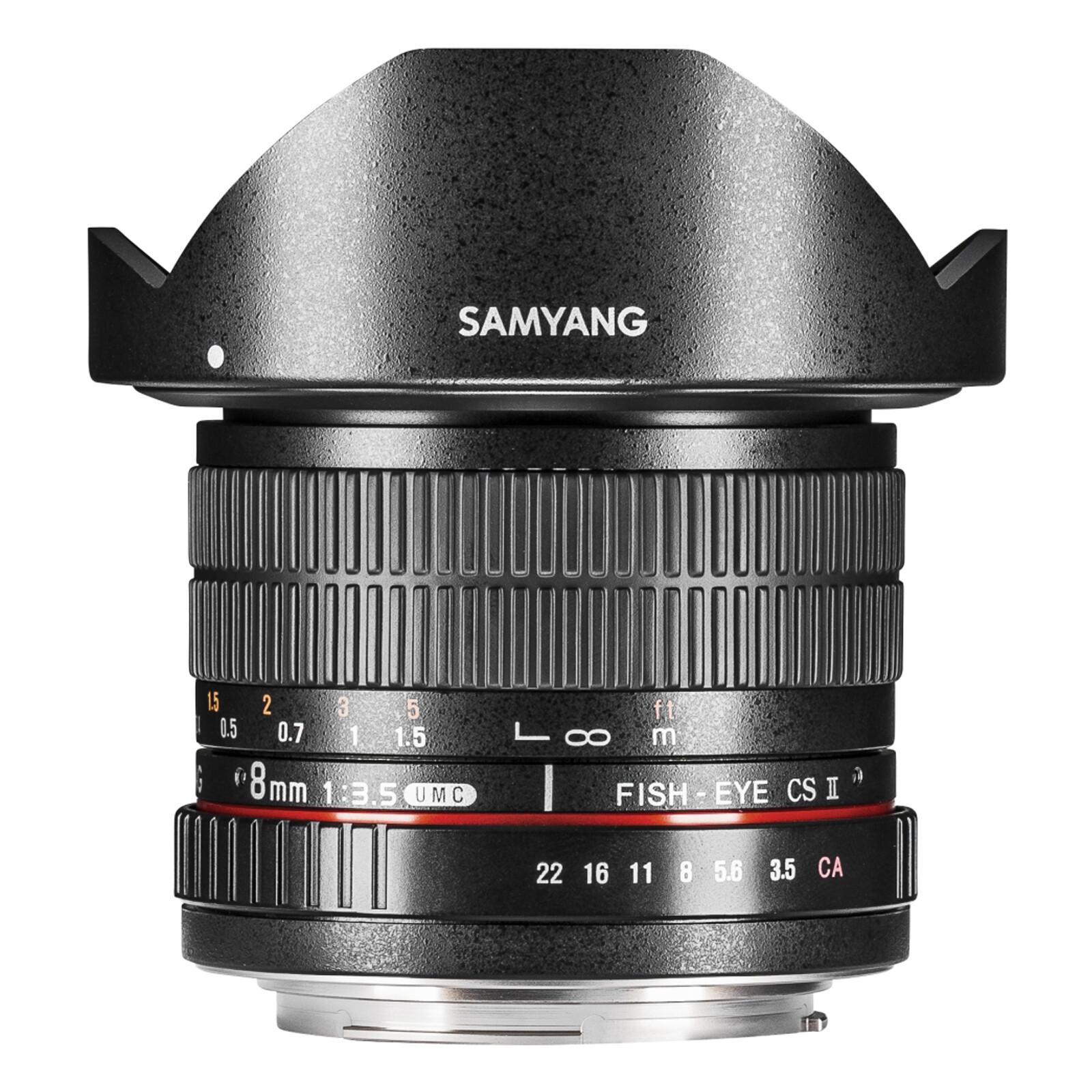 Samyang MF 8/3,5 Fisheye II APS-C Fuji X
