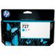 HP 727 B3P19A Tinte cyan 130ml