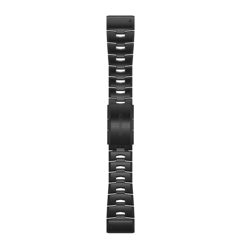 Garmin Quickfit Band 26mm Titan Carbongrau