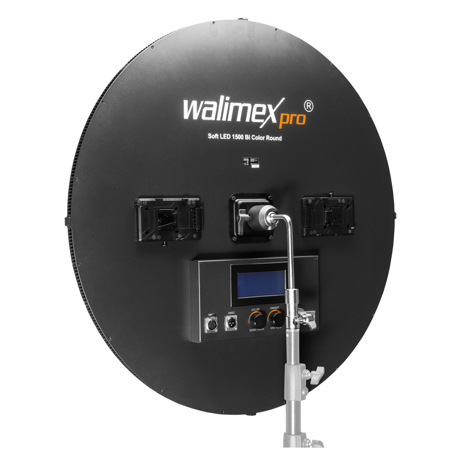 walimex pro Soft LED 1500 Bi Color Round