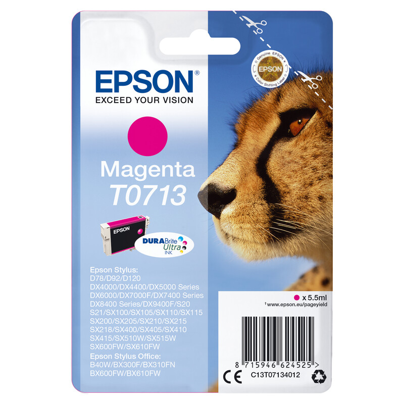 Epson T0713 Tinte Magenta 5,5ml
