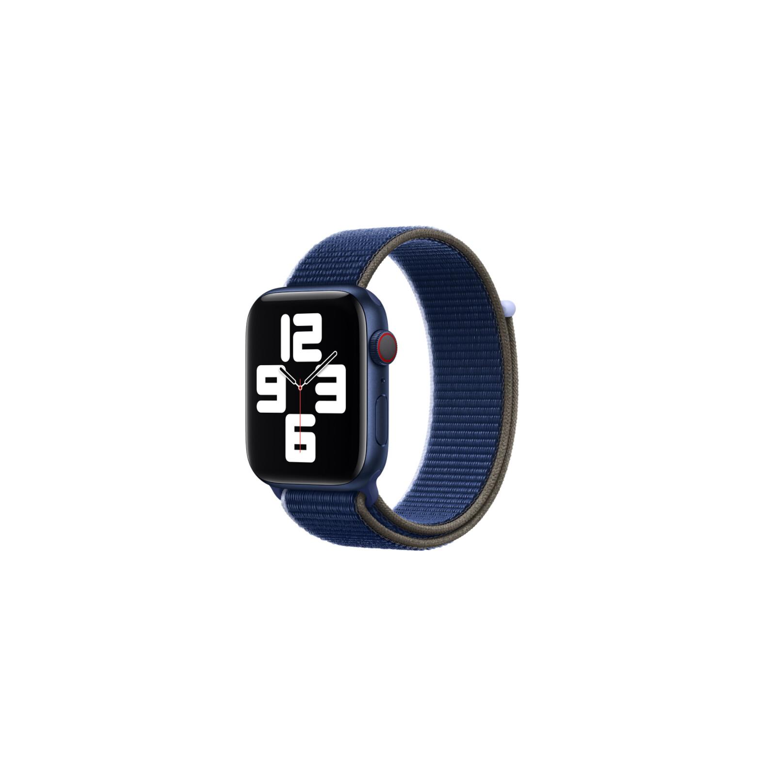 Apple Watch 44mm Sport Loop tiefseeblau