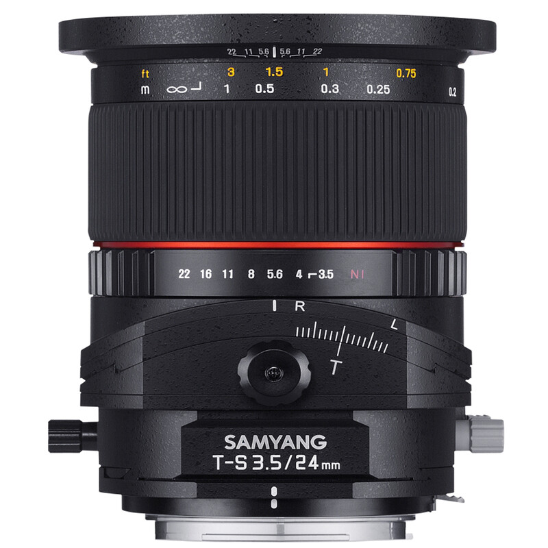 Samyang 24/3,5 DSLR T/S Sony E + UV Filter
