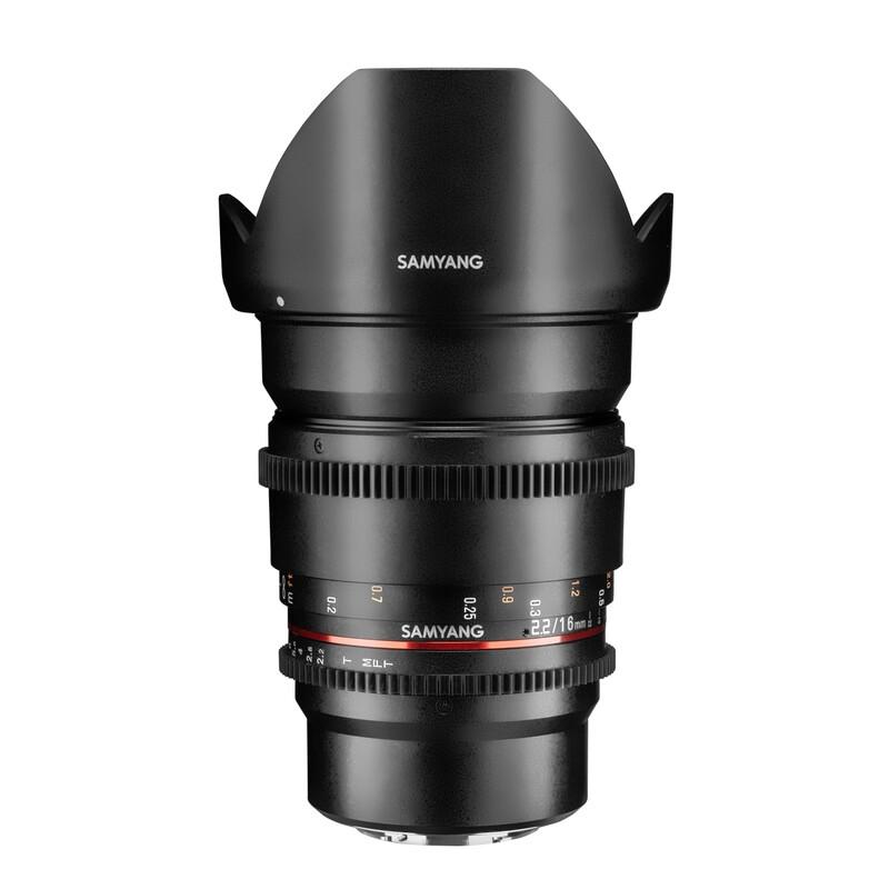 Samyang MF 16/2,0 APS-C Canon M