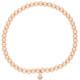 Armband Beat rosevergoldet echt silber