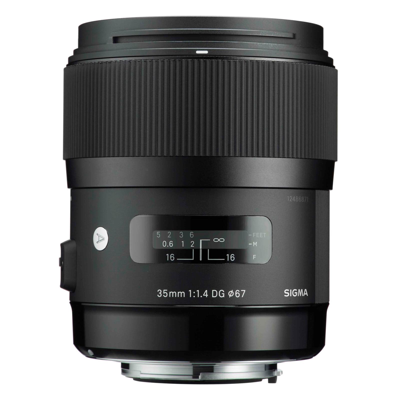 Sigma ART 35/1,4 DG HSM Sigma + UV Filter