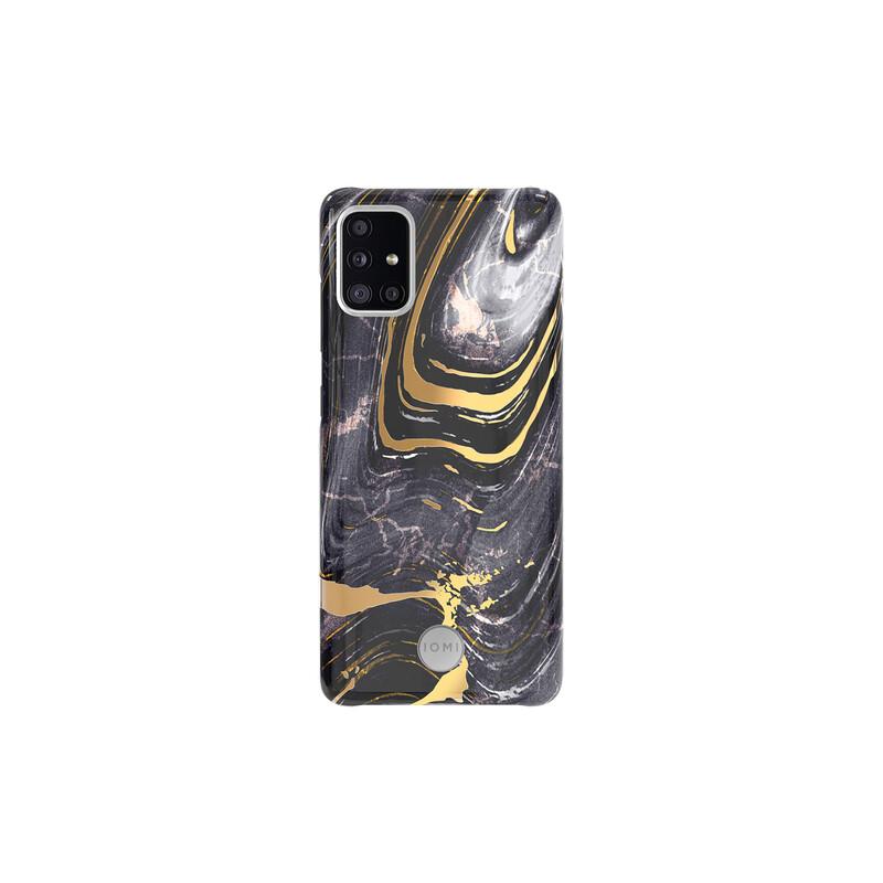 IOMI Back Design Samsung Galaxy A51 marble black nature