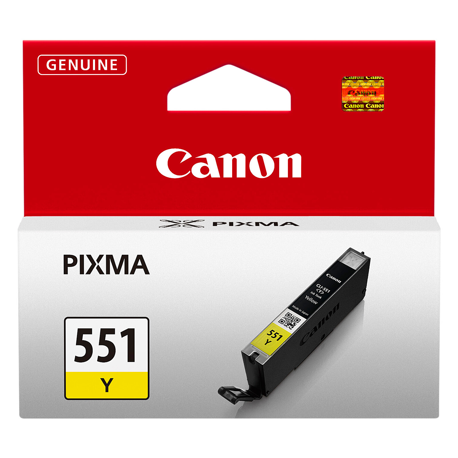 Canon CLI-551Y Tinte yellow