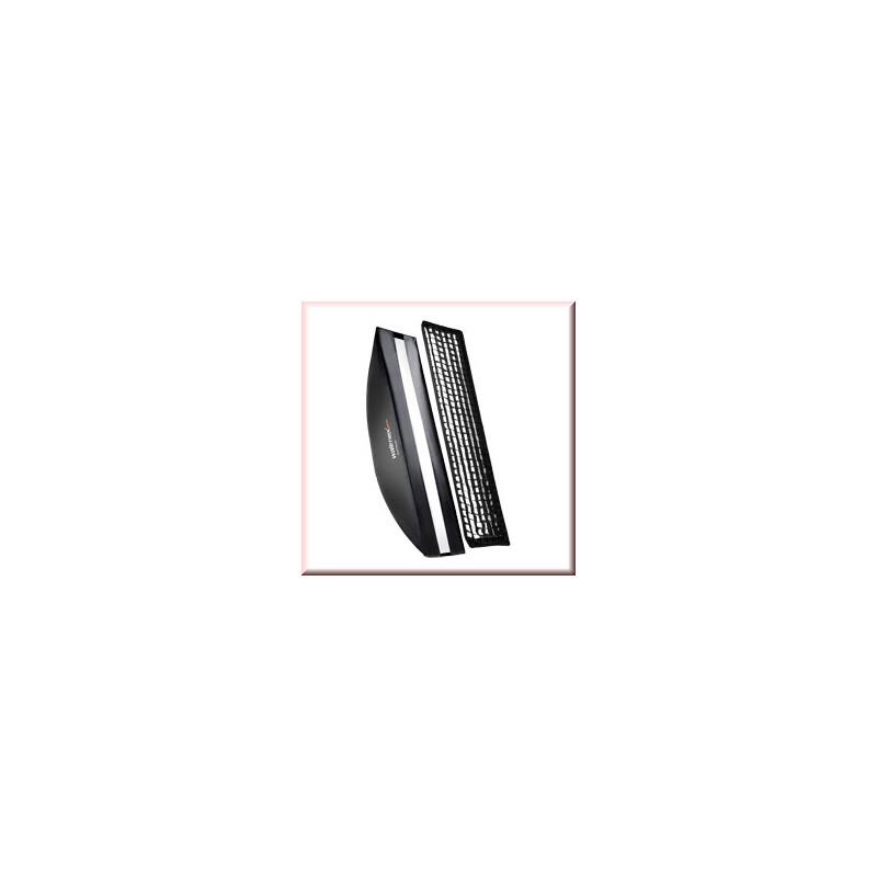 walimex pro Softbox PLUS OL 30x120cm Multiblitz V