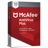 McAfee Antivirus Plus 10 Device (Code in Box)