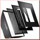 walimex pro Softbox PLUS OL 90x90cm Aurora/Bowens