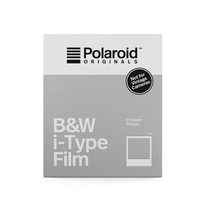 Polaroid i-Type B&W Film