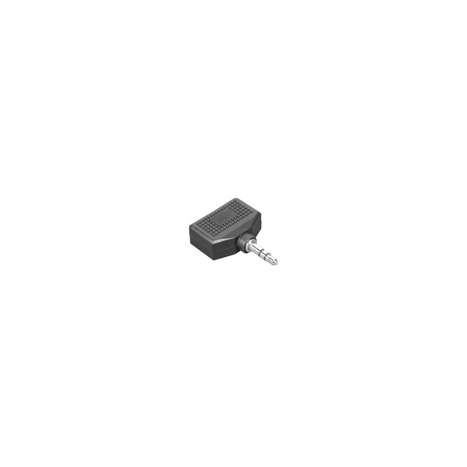 Hama 43353 Audio-Adapter 3,5-mm-Klinken-St. - 2 x 3,5-mm-Kli