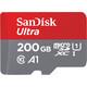 SanDisk mSDXC 200GB Ultra UHS-I A1 100MB/s