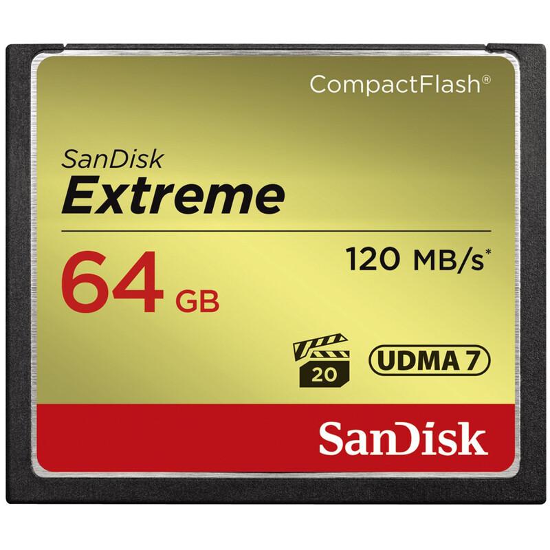 SanDisk CF 64GB Extreme 120MB/s