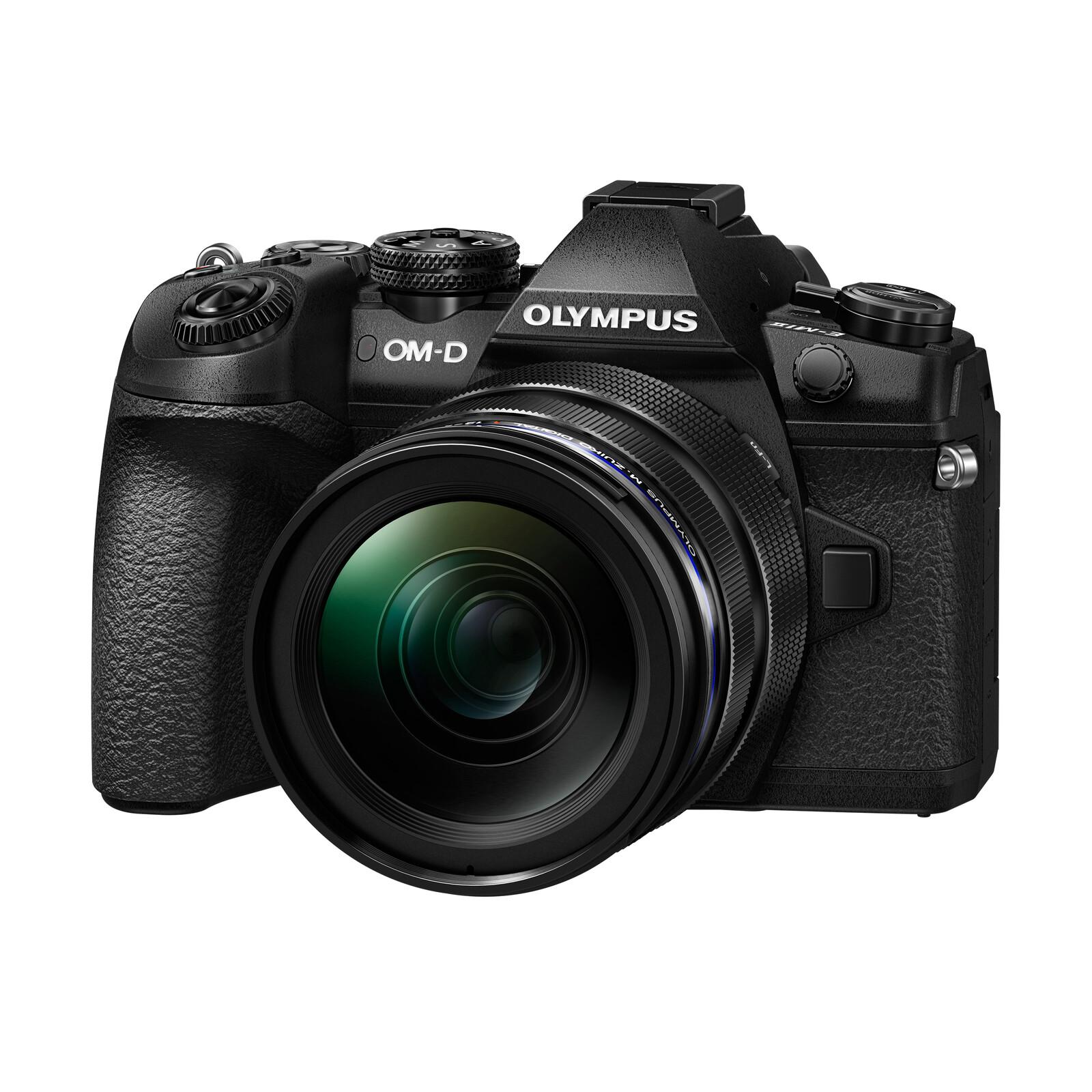 Olympus OM-D E-M1 Mark II + 12-40/2,8 Schwarz