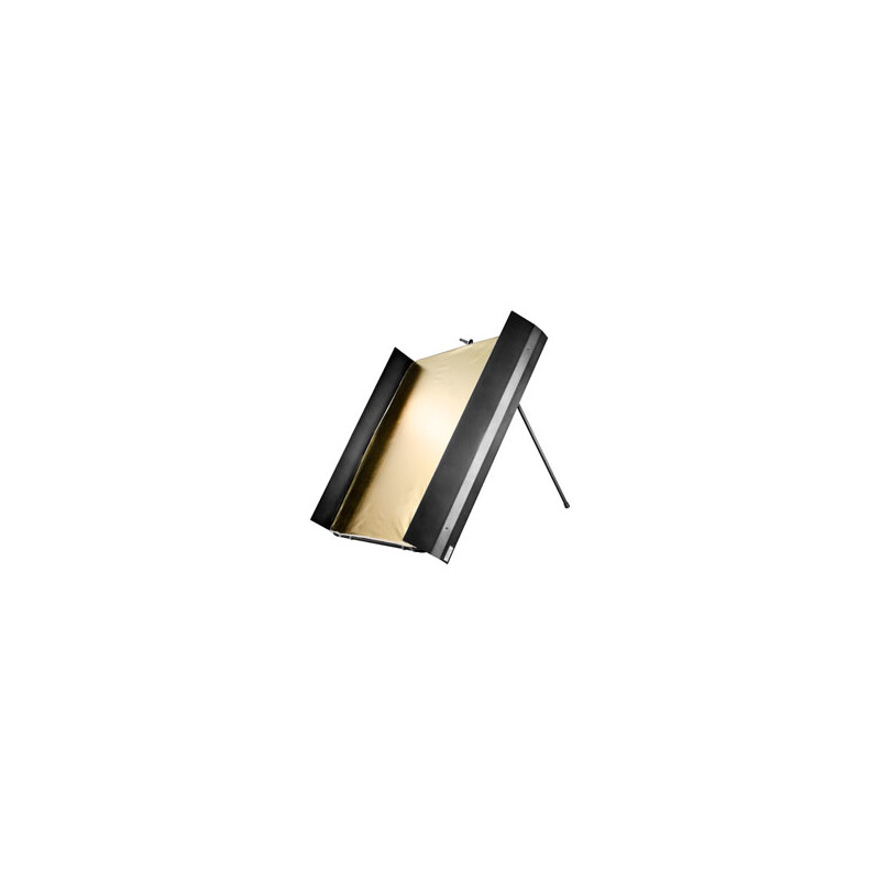 walimex pro Reflektorpanel mit Lichtklappen, 1x1m