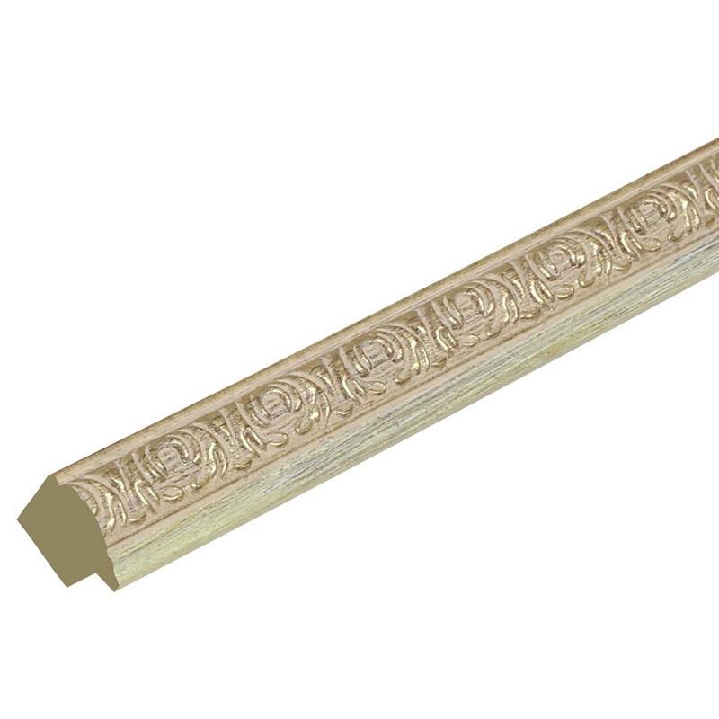 Bilderrahmen Deknudt 20x30cm Kunststoff gold S95LA1