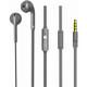 Nabo Soundplug In-Ear Kopfhörer grau
