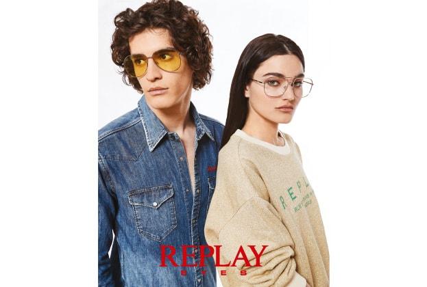 stylisches Pärchen mit Replay Brillen von Hartlauer