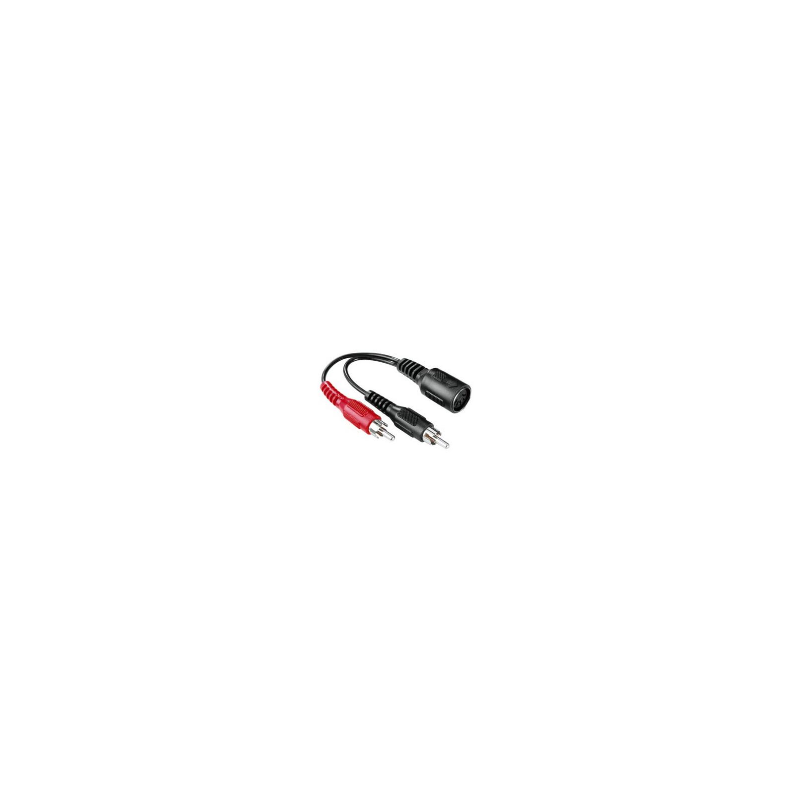 Hama Audio-Adapter 2 Cinch-Stecker 5-pol.-DIN-Kupplung