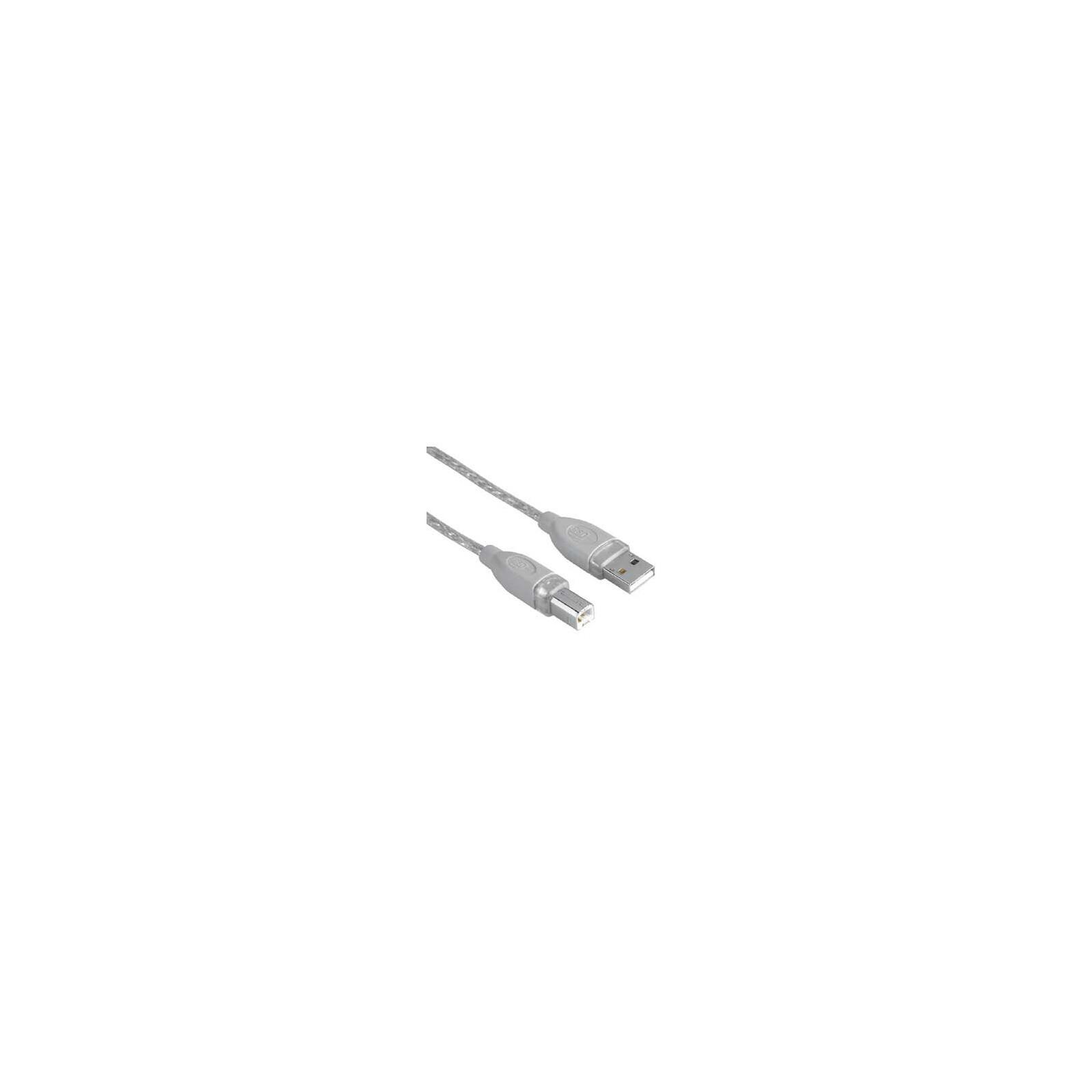 Hama 45022 USB-2.0-Kabel, geschirmt, Grau, 3,00 m