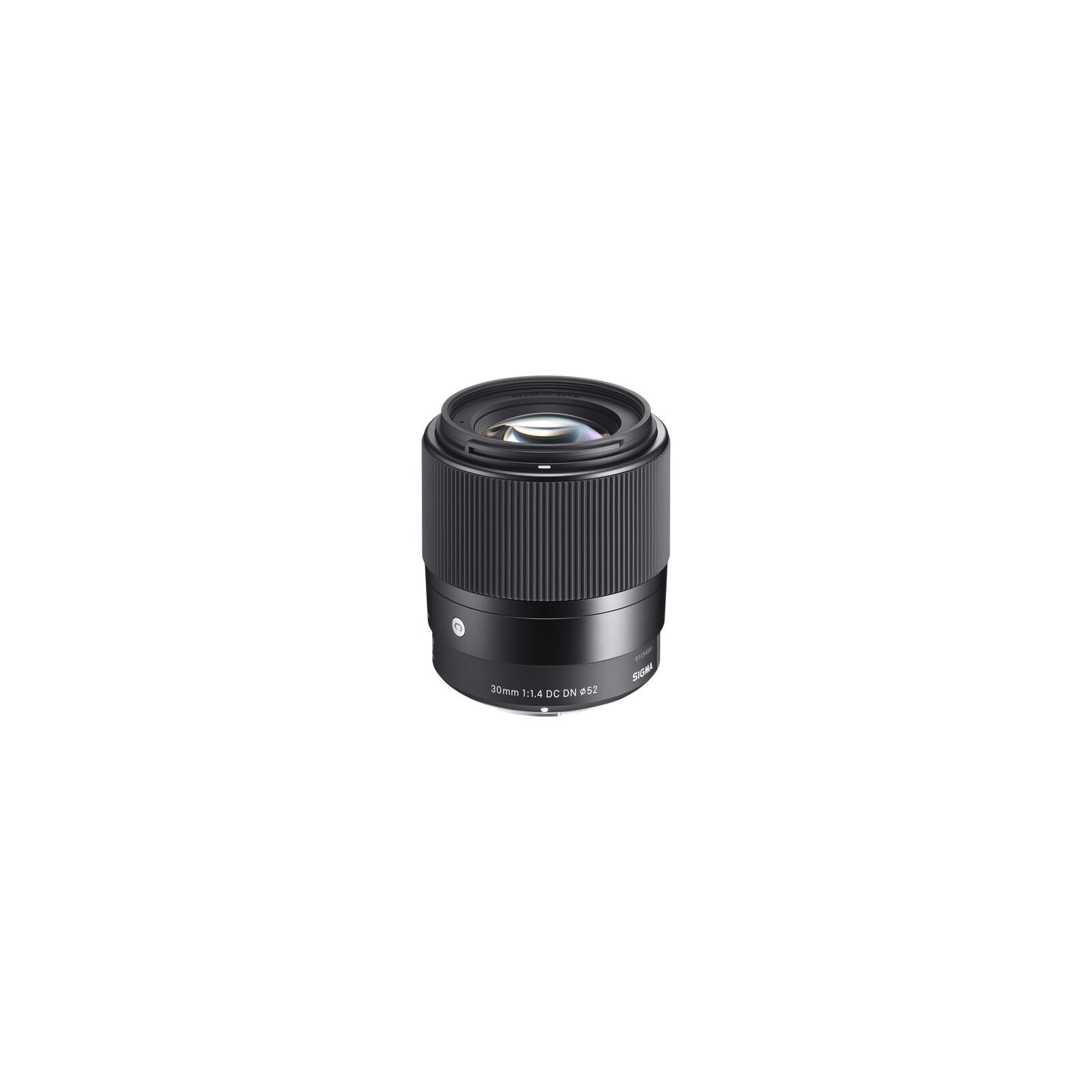 Sigma 30/1,4 DC DN MFT Schwarz + UV Filter