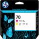 HP 70 C9406A Druckk yellow/magenta