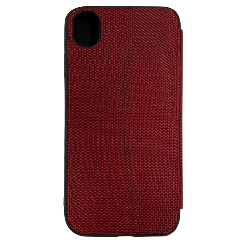 Felixx Book Tasche Lyon Apple iPhone XR Bordeaux Rot