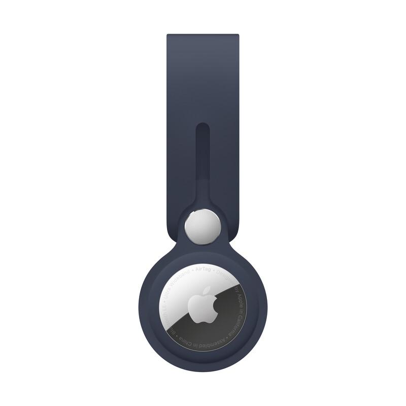 Apple AirTag Anhänger dunkelmarine