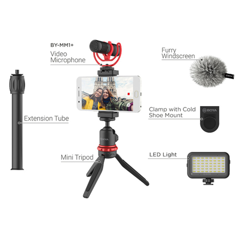 Boya VG-350 All in One Smartphone Videokit