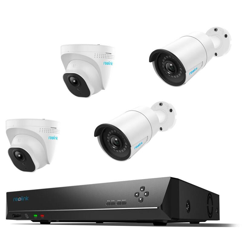 Reolink Überwachungskamera Set RLK8-520B2D2