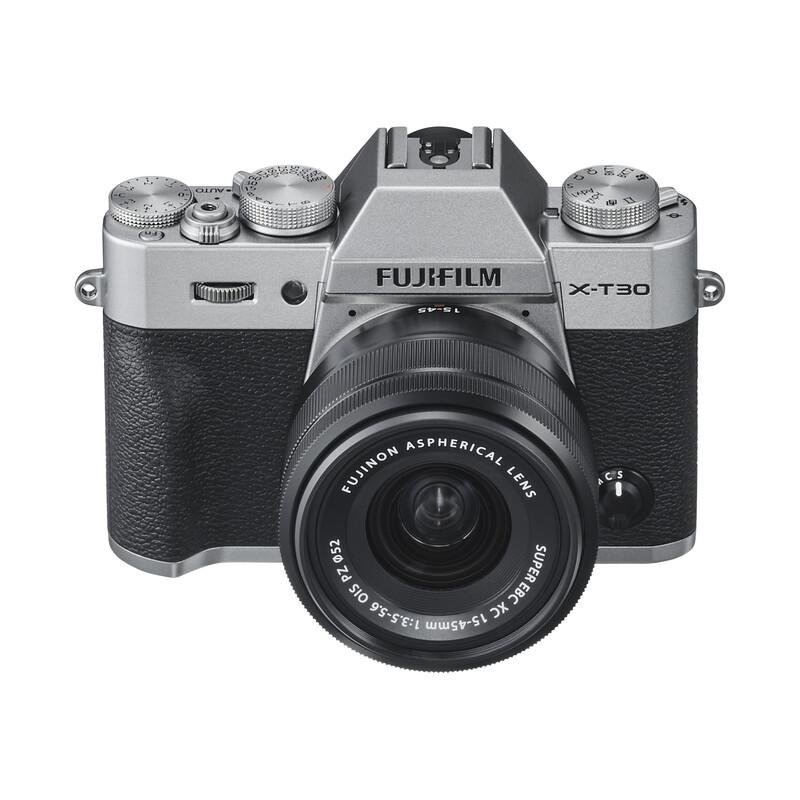 Fujifilm X-T30 + XC 15-45 + XC 50-230 OIS KIT silber