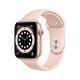 Apple Watch Series 6 Cellular Alu gold 40mm sandrosa
