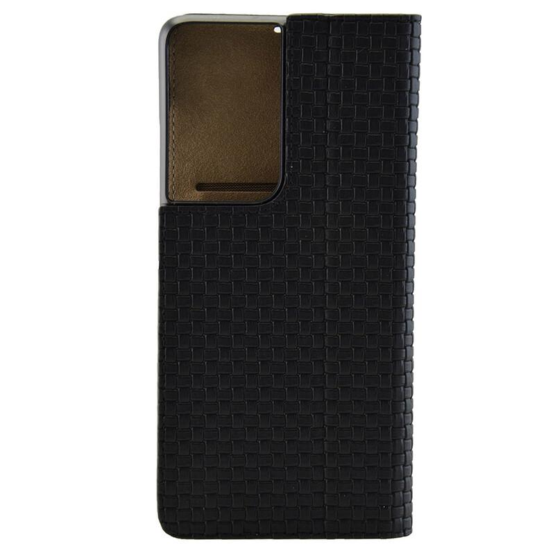 Galeli Book ENZO Samsung Galaxy S21 Ultra classy black
