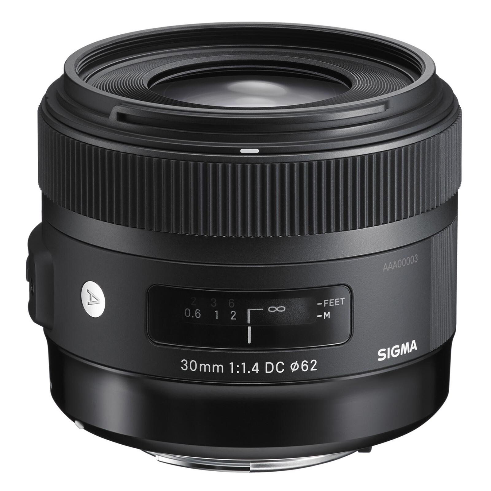 Sigma ART 30/1,4 DC HSM Canon + UV Filter