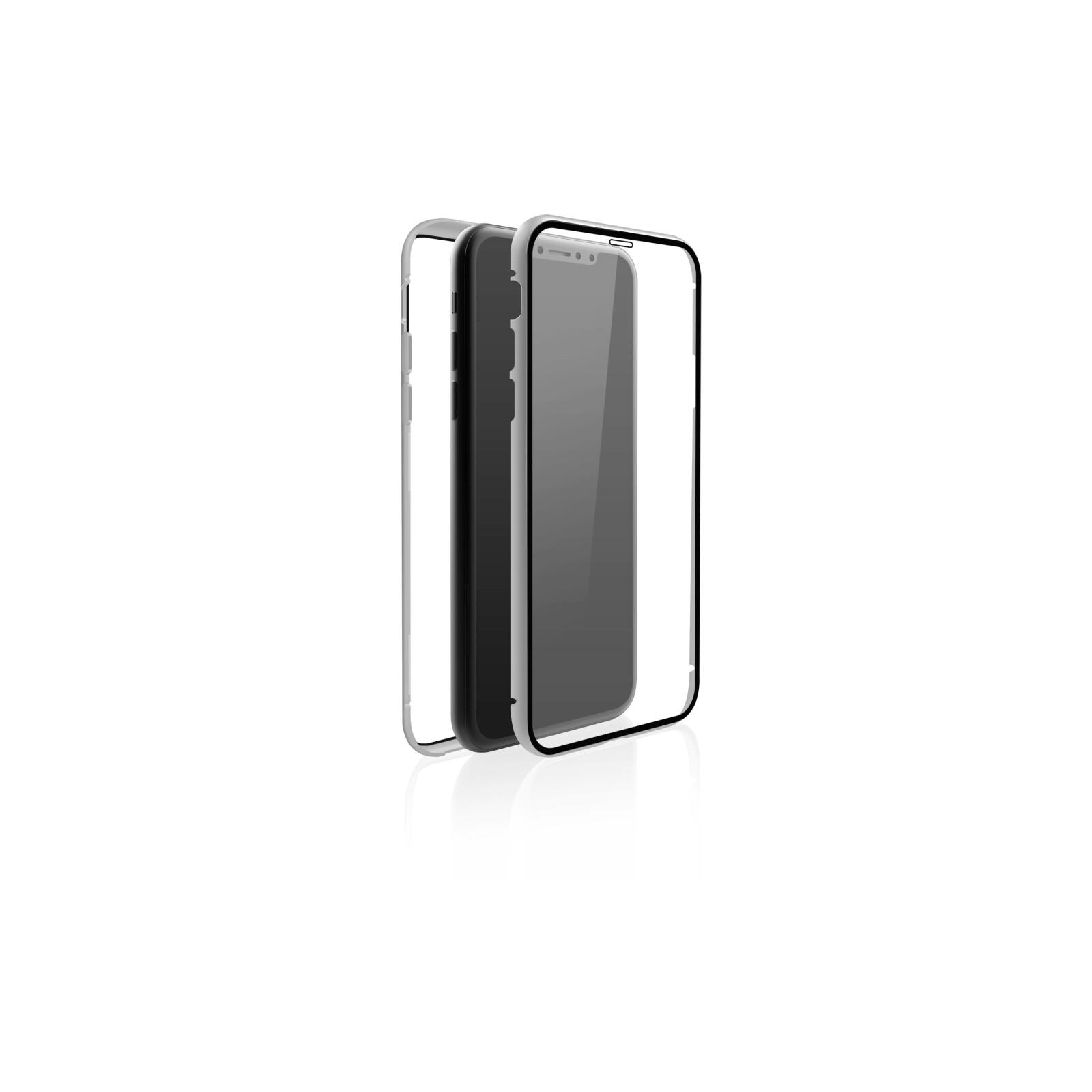 Hama Back Cover Black Rock 360° Glass Apple iPhone XR