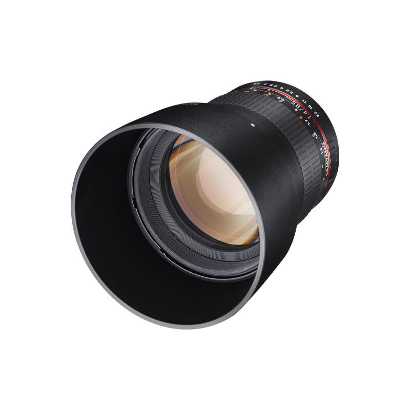 Samyang MF 85/1,4 AS IF UMC Fuji X + UV Filter