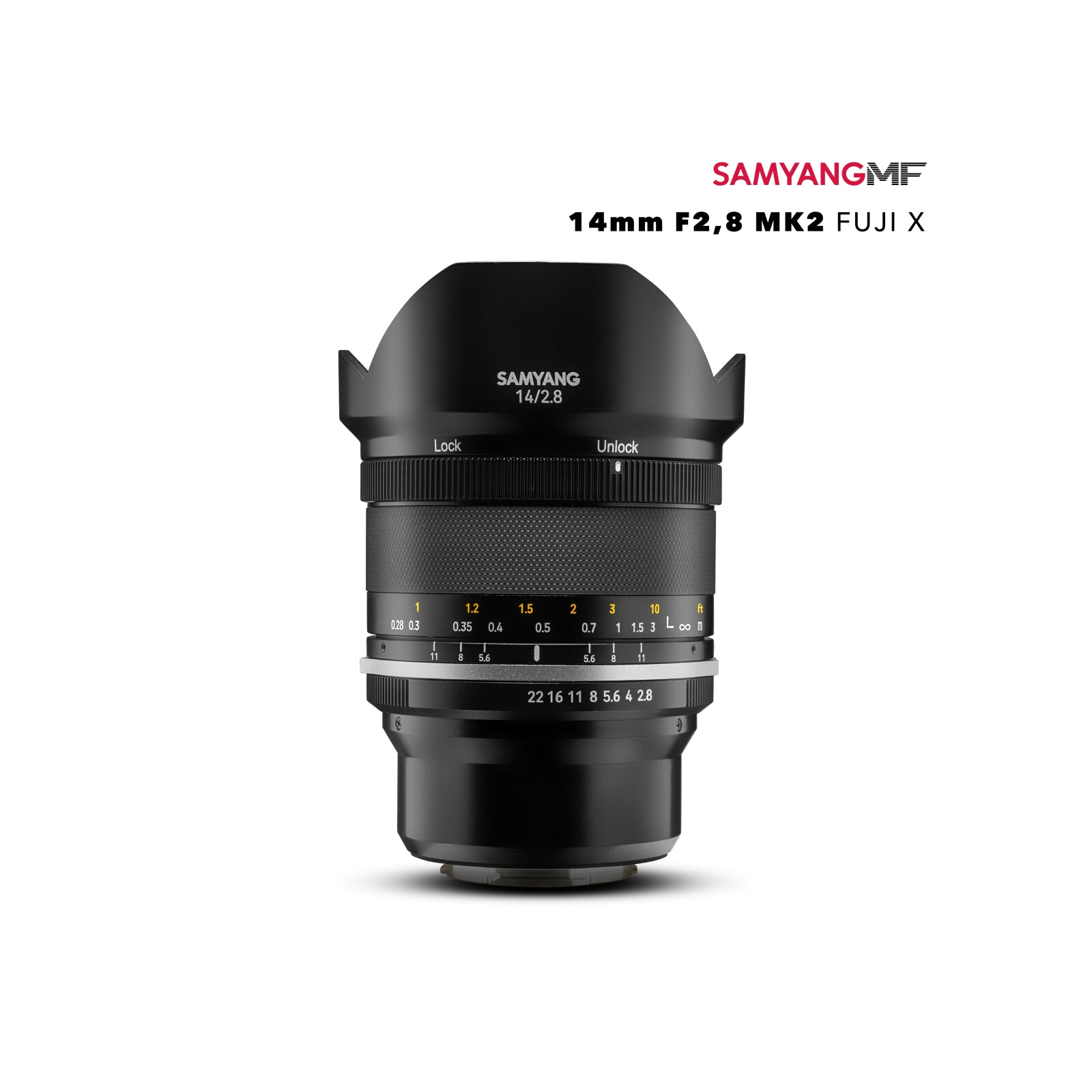 Samyang MF 14/2,8 MK2 Fuji X