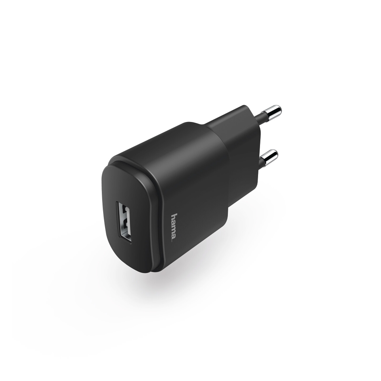 Hama USB-Ladegerät 1/2A schwarz