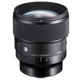 Sigma 85/1,4 DG DN Sony E + UV Filter