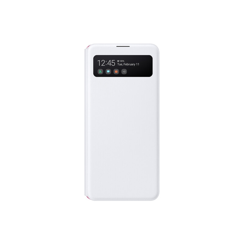 Samsung Booktasche S View Galaxy A41 weiss