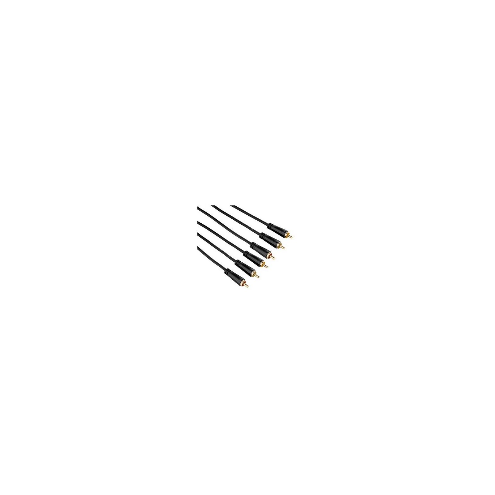 Hama 122157 Audio/-Video Kabel 3 Cinch-Stecker