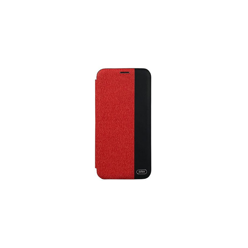 Felixx Book Tasche Verona Huawei P Smart kirschrot