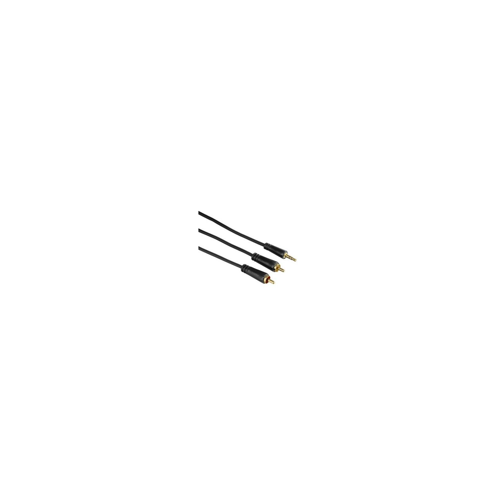 Hama 3,5-mm-Klinken-Stecker - 2 Cinch-Stecker
