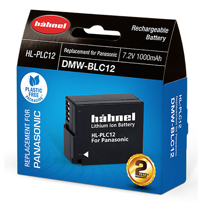 Hähnel Panasonic DMW-BLC12 Akku