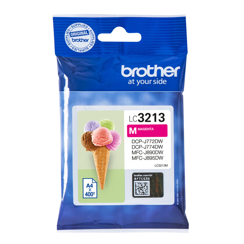 Brother LC3213M Tinte Magenta