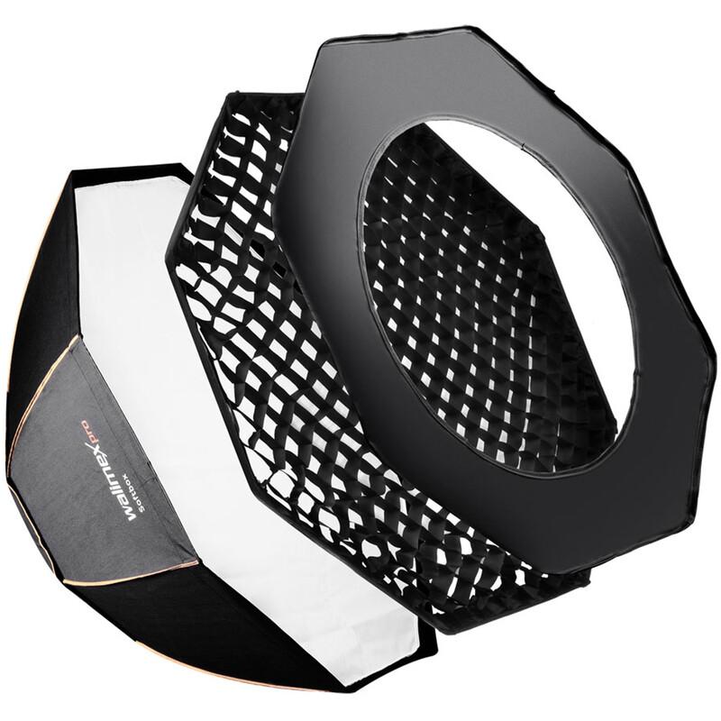 walimex pro Octagon Softbox PLUS OL Ø120 C&CR