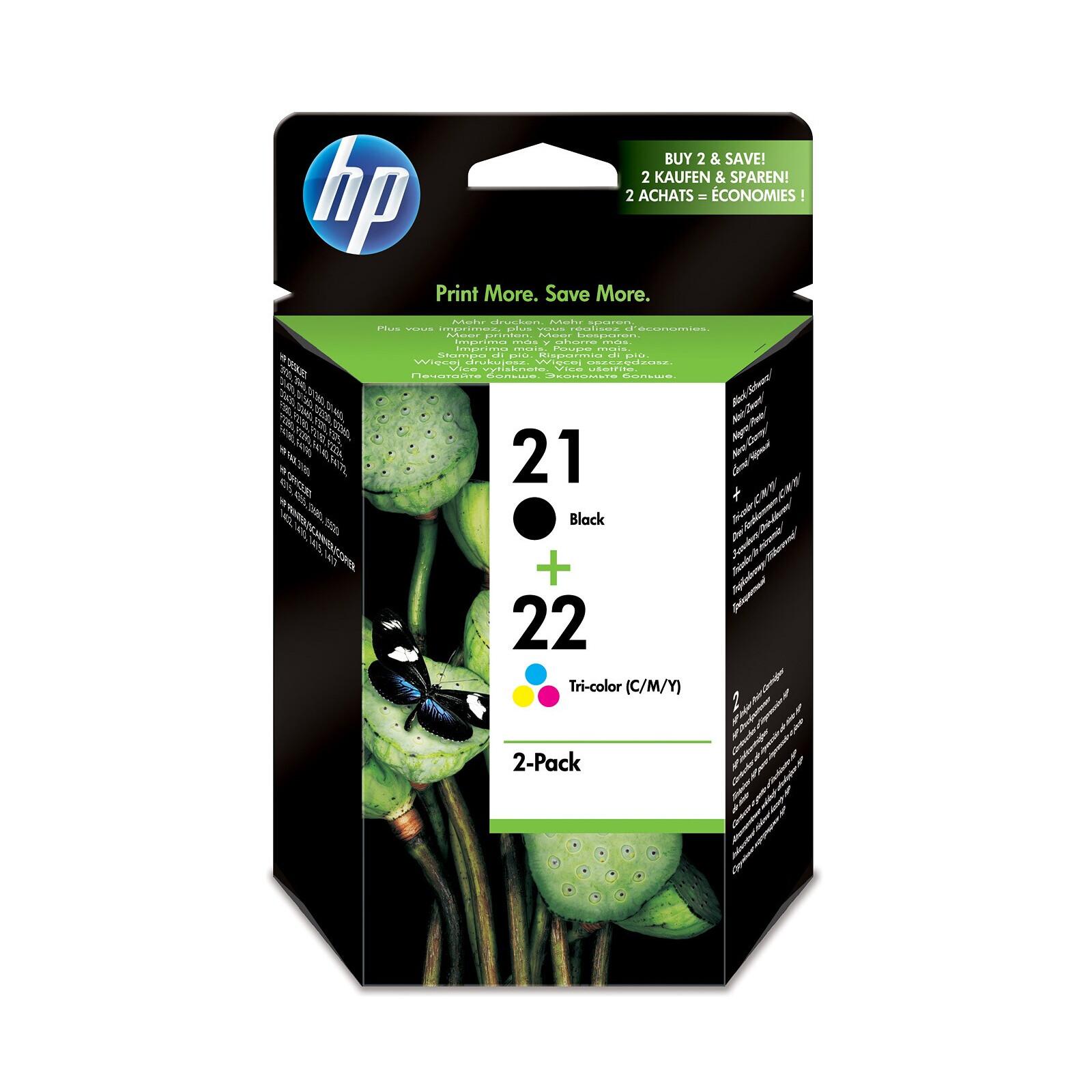 HP 21+22 SD367AE Tinte Set