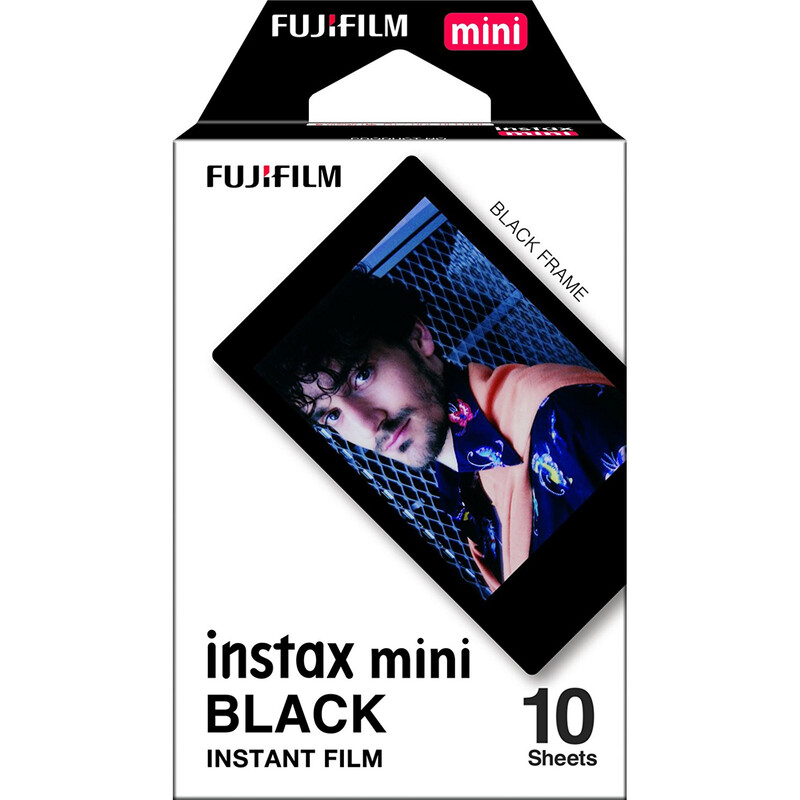 Fujifilm Instax Mini Black Frame 10 Aufnahmen